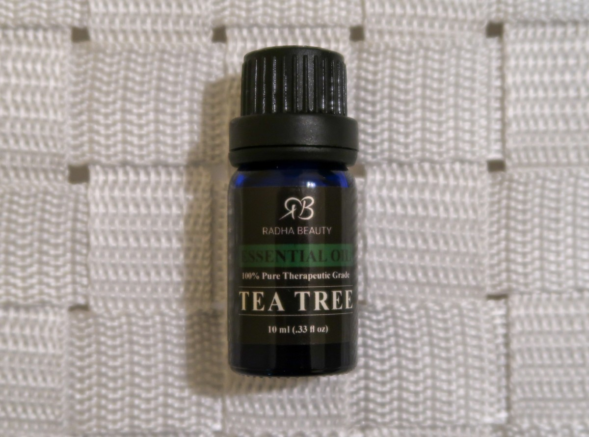 Tea tree oil 10ml bottle