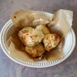 Air fryer cheese biscuits