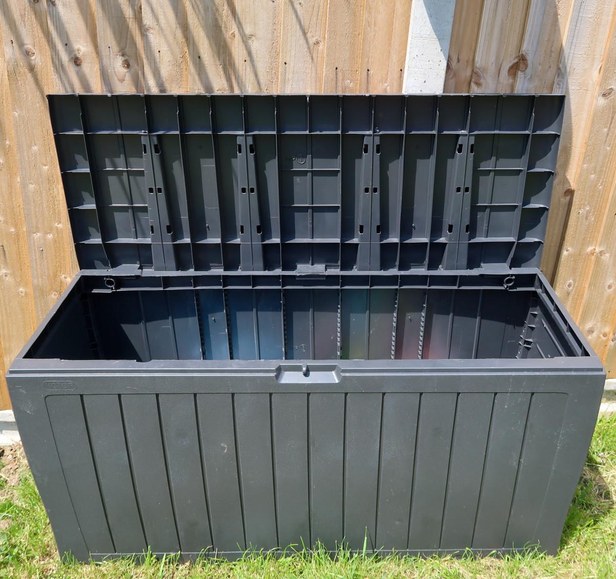 Our garden storage