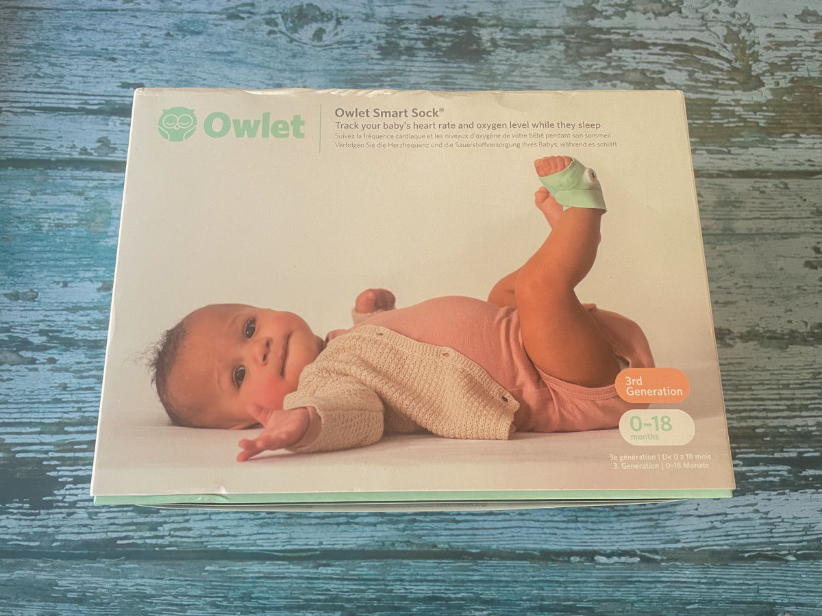 Owlet Smart Sock 3